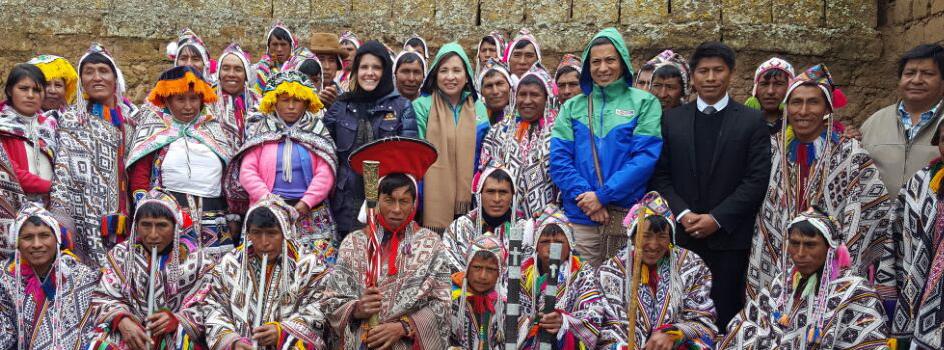 Ministra Elsa Galarza destaca labor de comunidades en preservación genética de la papa y desarrollo de experiencias bioculturales