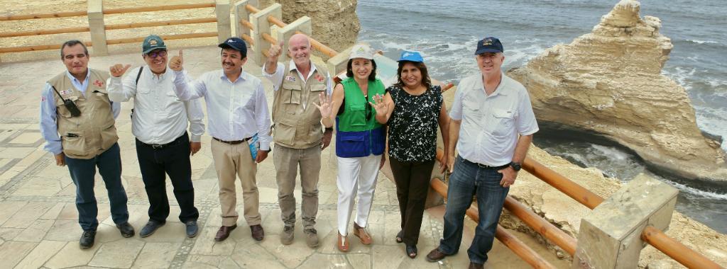 Atención turistas: se inauguró el nuevo Circuito Norte de la Reserva Nacional de Paracas
