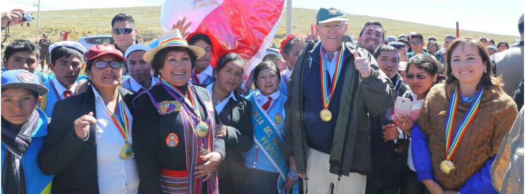 El Presidente de la República y la Ministra del Ambiente participaron del 50 aniversario de la Reserva Natural de Pampa Galeras