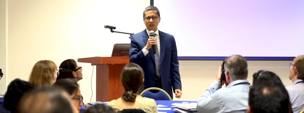 Viceministro Fernando León inaugura Taller de Validación sobre Gestión de la Agro biodiversidad