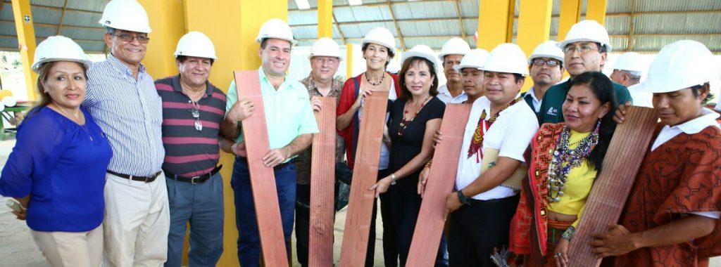 MINAM inaugura Centro de Acopio y Valor Agregado para madera de bosques manejados por comunidades indígenas