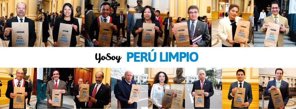 Congreso de la República se suma a campaña: Este 29 Yo soy Perú Limpio