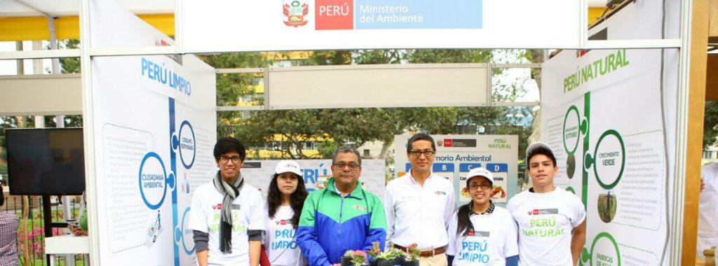 Ministerio del Ambiente participó en Feria de la Sostenibilidad