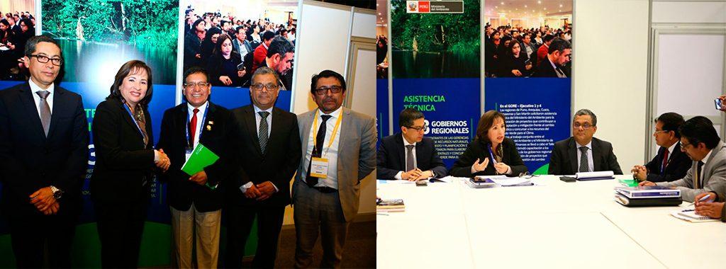 Ministra Elsa Galarza se reúne con gobernadores durante 5to Gore Ejecutivo