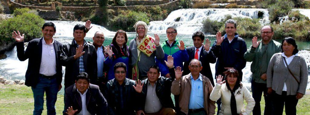 """MINAM lanza iniciativa """"Fábricas de Agua"""" para conservar las fuentes naturales de agua en zonas altoandinas"""