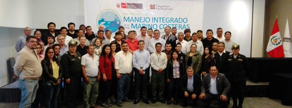 """Representantes de departamentos costeros suscriben """"Declaración de Paracas"""" para impulsar Manejo Integrado de Zonas Marino Costeras"""