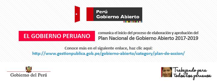 Plan Nacional de Gobierno Abierto