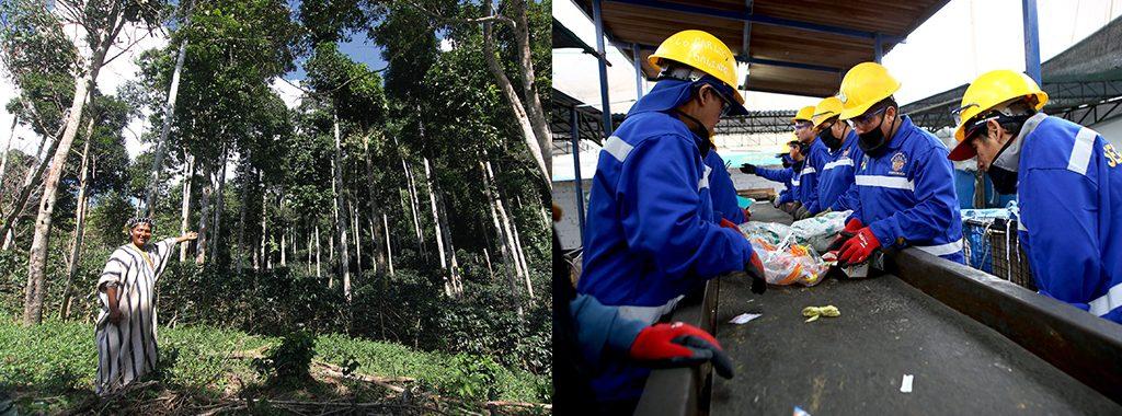 MINAM promueve inversión por más de US$ 60 millones en conservación de bosques y más de US$ 100 millones en gestión de residuos sólidos