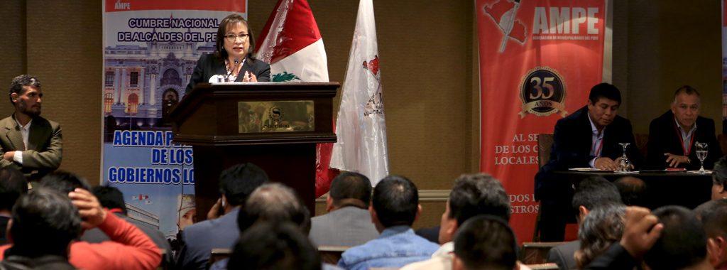 Ministra del Ambiente, Elsa Galarza, presenta líneas estratégicas de Perú Limpio ante 500 Municipalidades del país