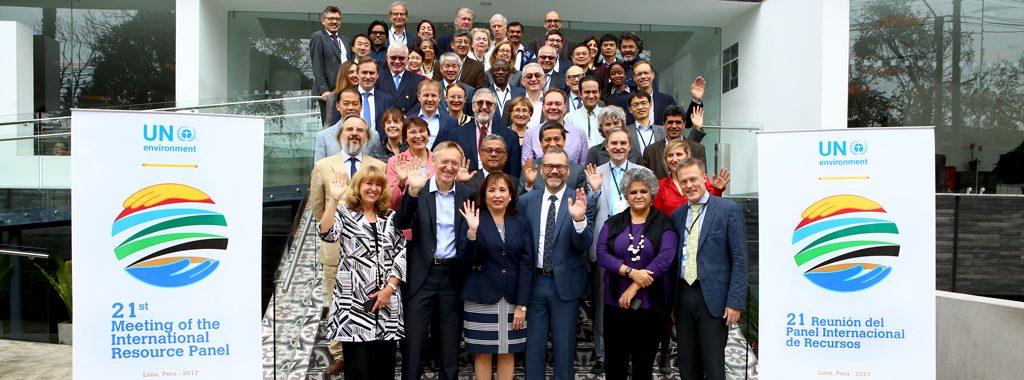 Ministra del Ambiente, Elsa Galarza, inaugura Panel Internacional de Recursos que reúne a expertos para compartir soluciones sobre el manejo de recursos a nivel mundial