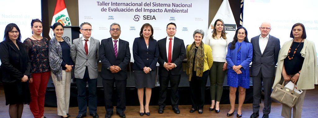 Ministra del Ambiente clausuró Taller Internacional del Sistema Nacional de Evaluación del Impacto Ambiental – SEIA 2017