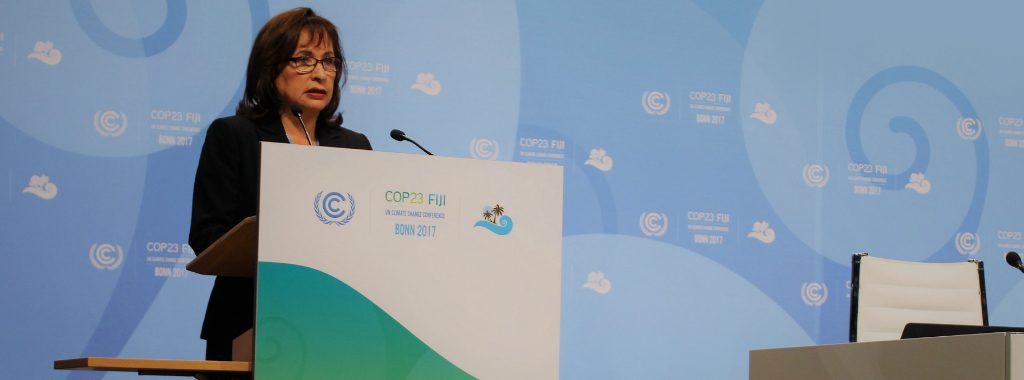 Perú consolida su liderazgo climático en la COP23