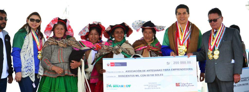 El Ministerio del Ambiente y la CAF reconocen  emprendimientos que fortalecen la biodiversidad en Puno