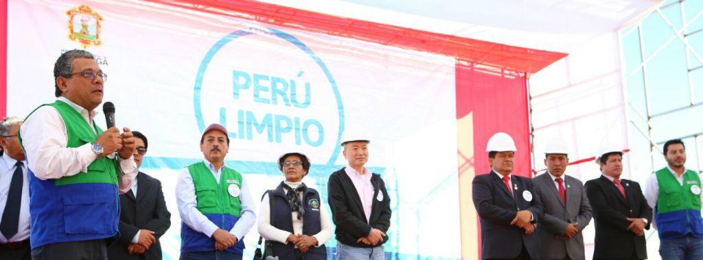 Ministerio del Ambiente inauguró en Huamanga relleno sanitario que beneficiará a más de 50mil personas
