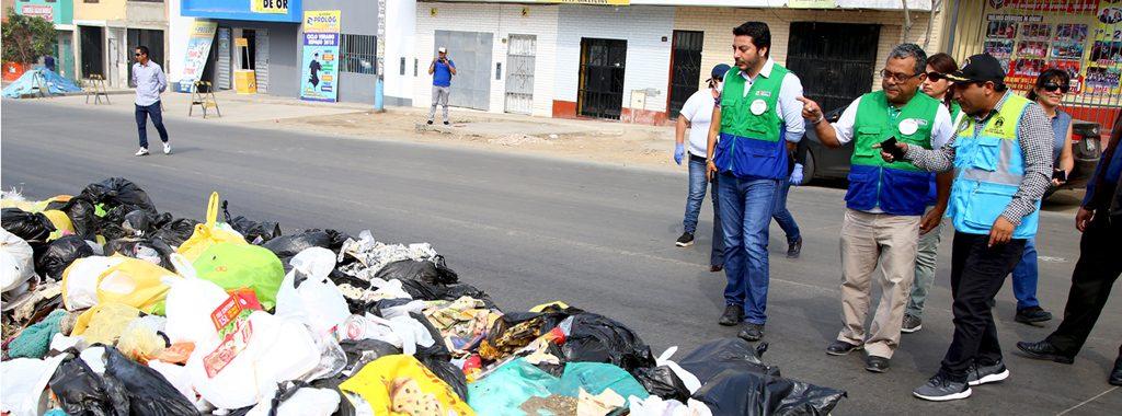 Ministerio del Ambiente adopta medidas para apoyar en la labor de limpieza en el distrito de Villa María del Triunfo