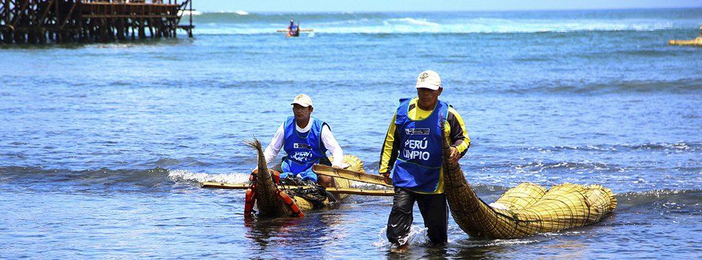 Se recogió media tonelada de basura en playas del balneario de Huanchaco