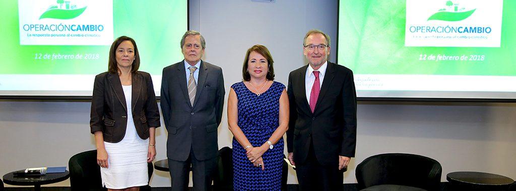 Ministra del Ambiente, Elsa Galarza, inaugura taller sobre el rol de la Cooperación Internacional en la respuesta peruana multisectorial al cambio climático