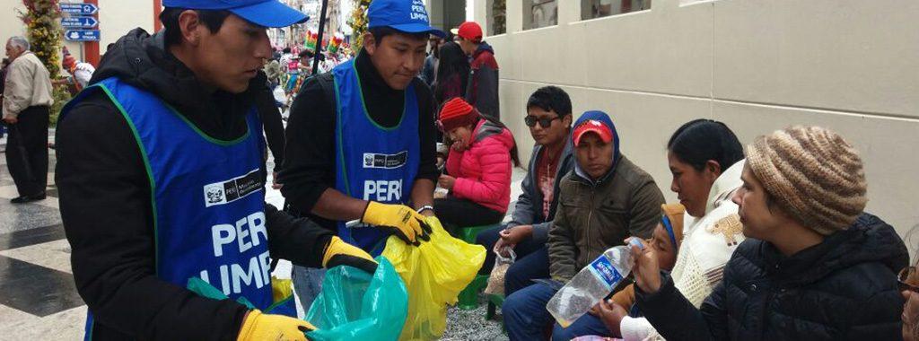 Campaña PERÚ LIMPIO recolectó 66 toneladas de residuos sólidos durante la festividad de la Virgen de la Candelaria en Puno