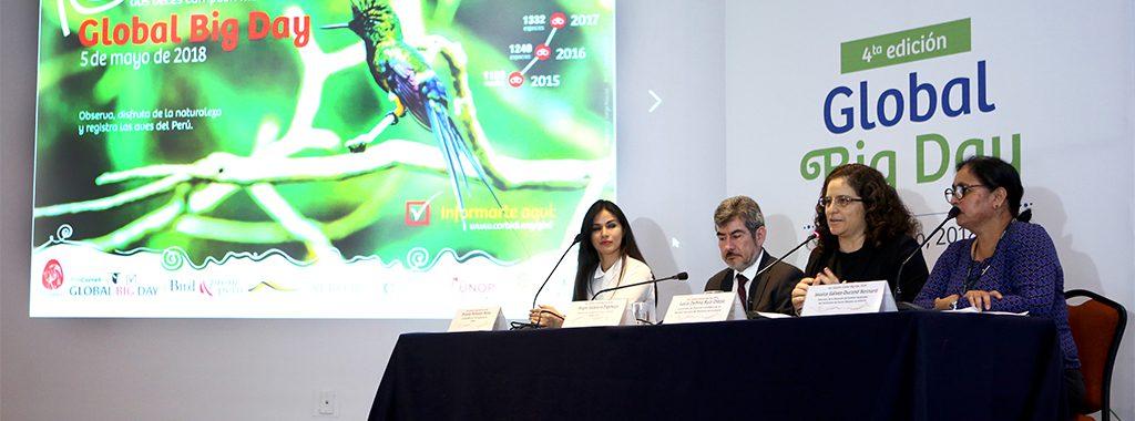 MINAM: Evento Internacional Global Big Day permitirá demostrar la gran diversidad de aves que tiene el Perú