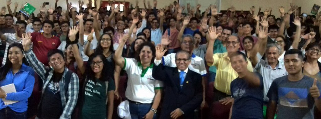 Ministra Fabiola Muñoz dialogó con jóvenes de la Universidad San Martín sobre las oportunidades de desarrollo sostenible
