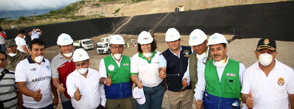 Ministra del Ambiente inauguró relleno sanitario que beneficiará a 37 mil personas en Bagua, Amazonas