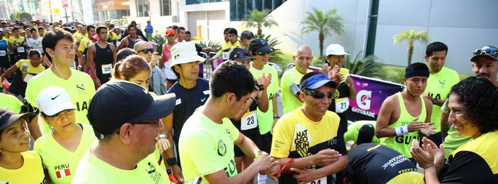 Ministerio del Ambiente participa en la carrera Nat Geo por el Día de la Tierra
