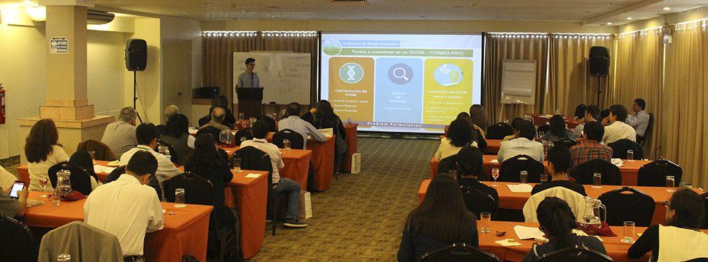 Profesionales del Estado peruano fortalecen sus capacidades en regulación de la biotecnología agraria