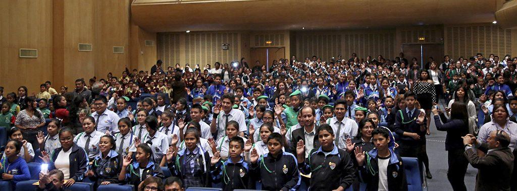 MINAM y Municipalidad del Callao juramentan a 800 brigadistas ambientales escolares que promoverán el cuidado del ambiente