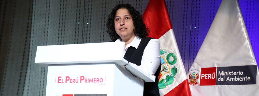 Ministra del Ambiente informa las acciones que el sector viene ejecutando en Arequipa, Cusco y Piura