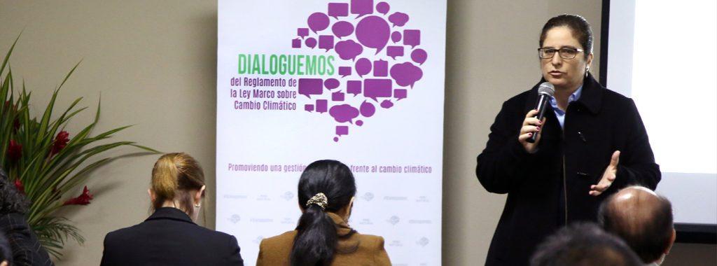 MINAM inicia proceso participativo para recoger los aportes en la elaboración del Reglamento de la Ley Marco sobre Cambio Climático